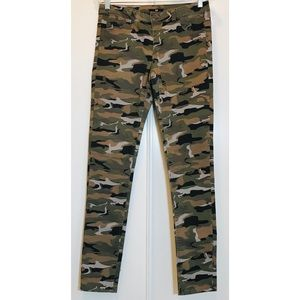 H&M Camouflage Skinny Stretch Pants US Sz. 10